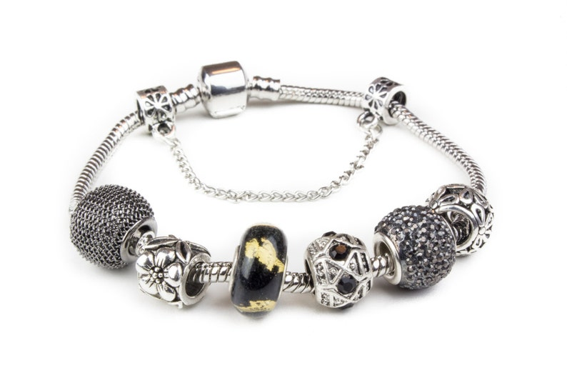 324a9f632f90 Puños negro   lujo pulsera brazaletes pulseras Joncs