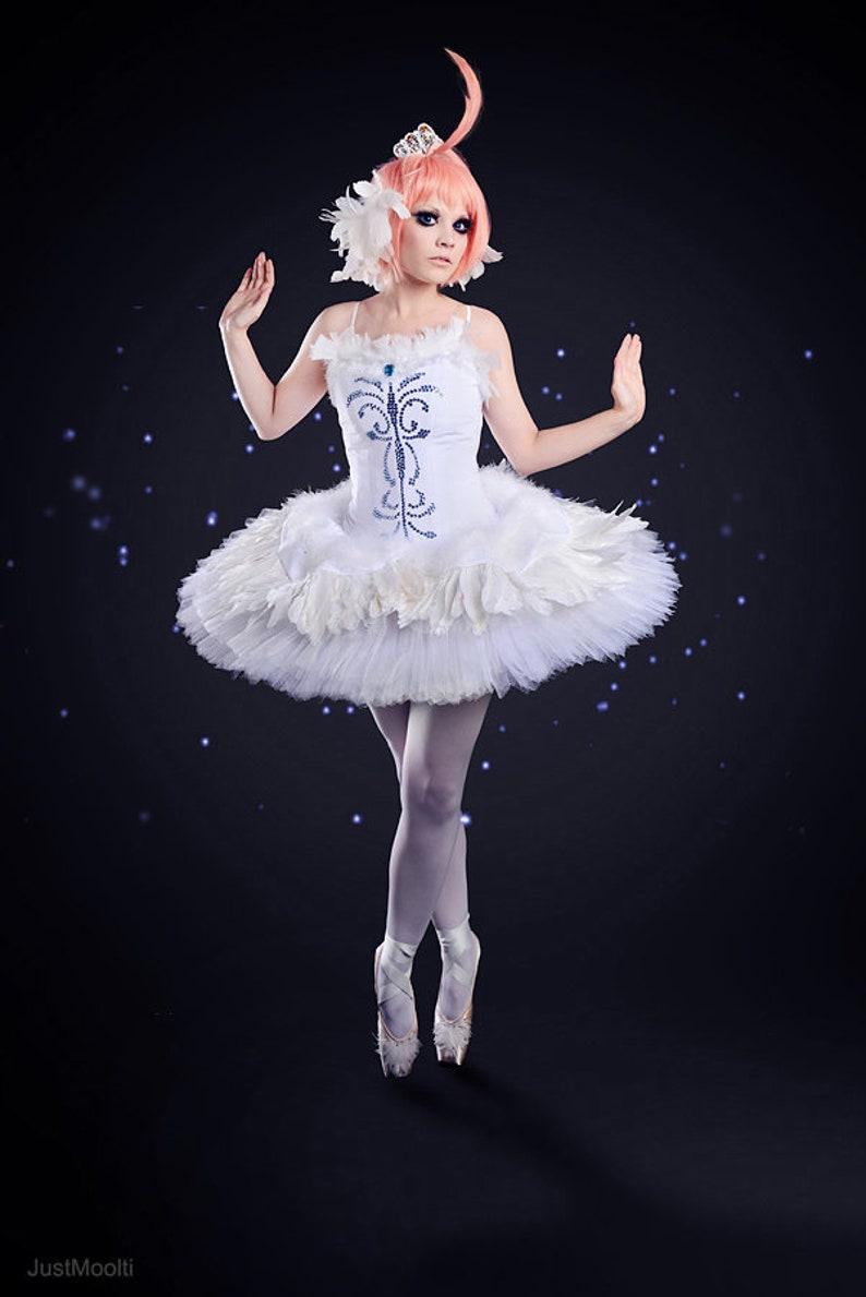 3bfc3d719 Princess Tutu Ahiru White swan cosplay Odette Swan lake | Etsy