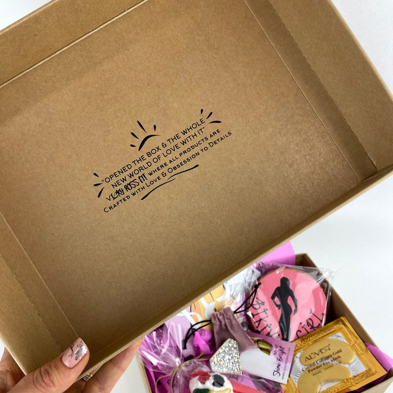 Gift Box by Vicky Ross Fit Handmade Gift Box Fitness Gift Ideas Bikini Gift Box Gifts for Women
