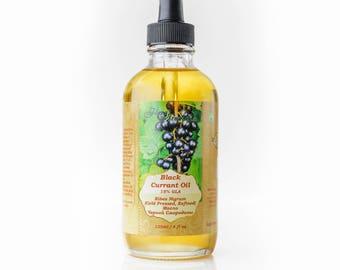 Black Currant Seed Oil - 15% GLA Cold Pressed  120ml / 4 Fl OZ