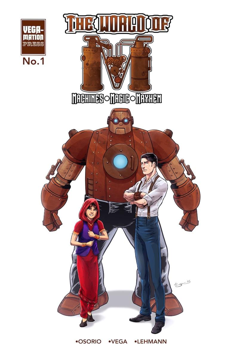The World Of M No 1 comic bundle image 0
