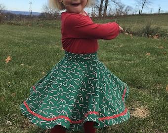 Vintage 1948 Girl's Circle Skirt