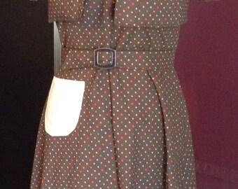 Vintage 1940 Girls Halter Dress & Bolero Size 12