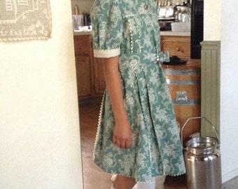 Vintage 1930's Girl's Dress Size 12