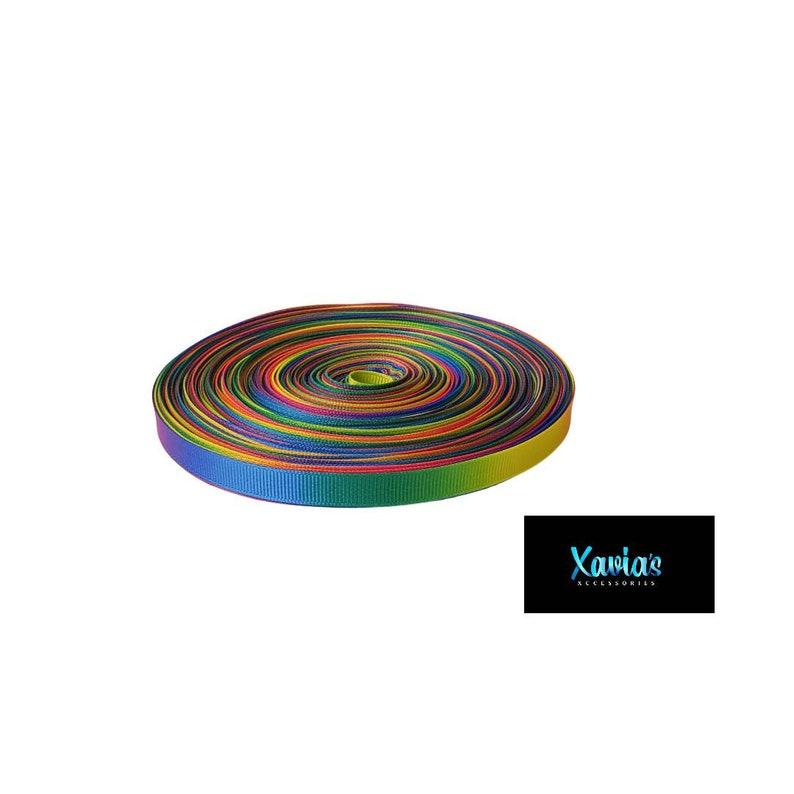Rainbow Ombre 38 inch Party Rainbow Ombre Ribbon By the Yard Ombre Ribbon Double Faced Rainbow Ombre Ribbon