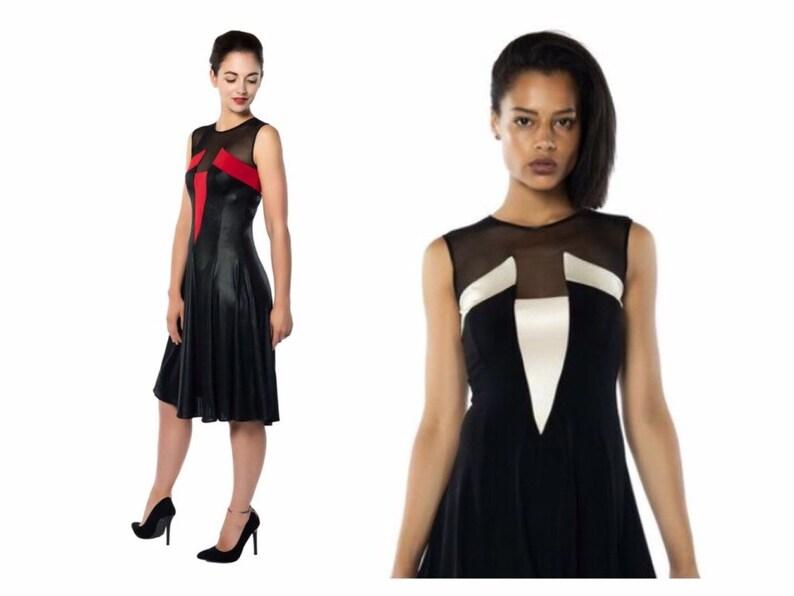 560a02531e3 A-Line Tango Dress
