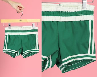 first rate 0c688 d102b Vintage 70s Boxing Shorts - Youth Small to Medium   Striped Athletic Gym  Shorts