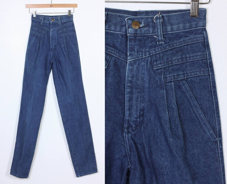 096021c38067 80s Wrangler Jeans Vintage Denim Pants High Waisted Mom | Etsy