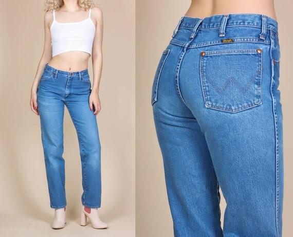 5b8a4d42 Vintage Wrangler Jeans Small to Medium 80s Denim High   Etsy