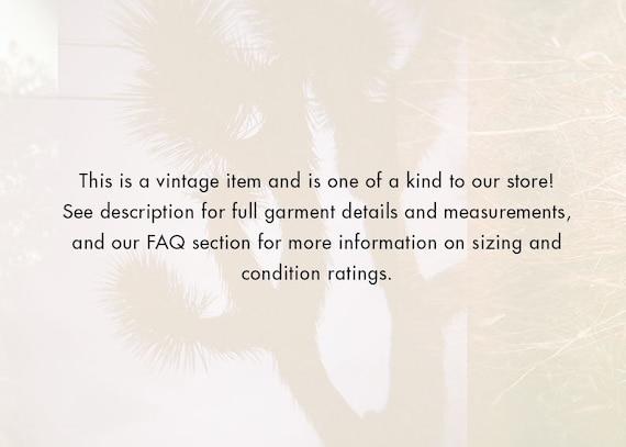 70s Chemin De Fer High Waist Jeans - XXS Long | V… - image 5