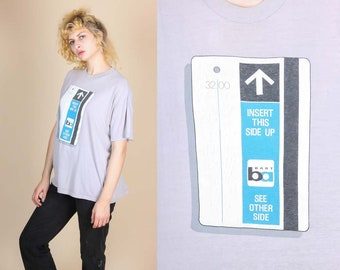 90s San Francisco Bart Train T Shirt - Extra Large | Vintage Graphic Travel Tee