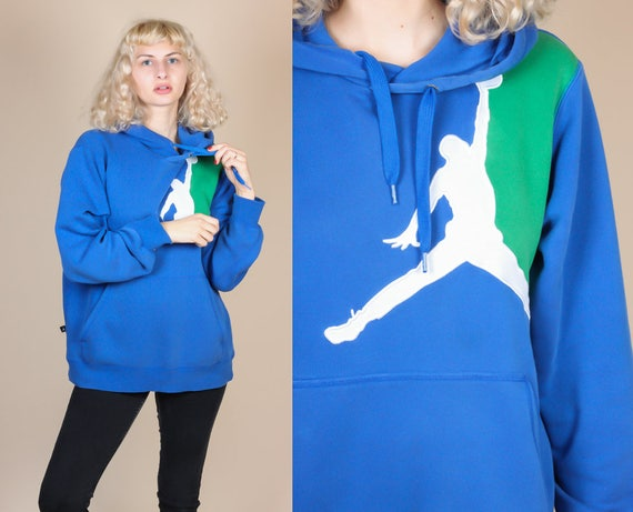 ae80238fa3c3 Vintage Nike Air Jordan Hooded Sweatshirt Mens Small 90s