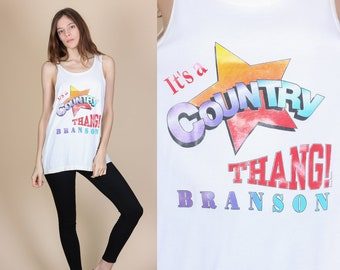 "80s ""It's A Country Thang"" Tank Top - Large 