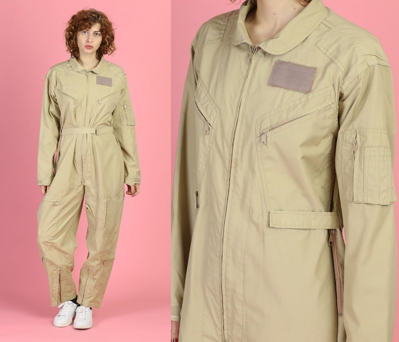 4a1d0a0f33f Vintage Air Force Coverall Jumpsuit Men s Medium