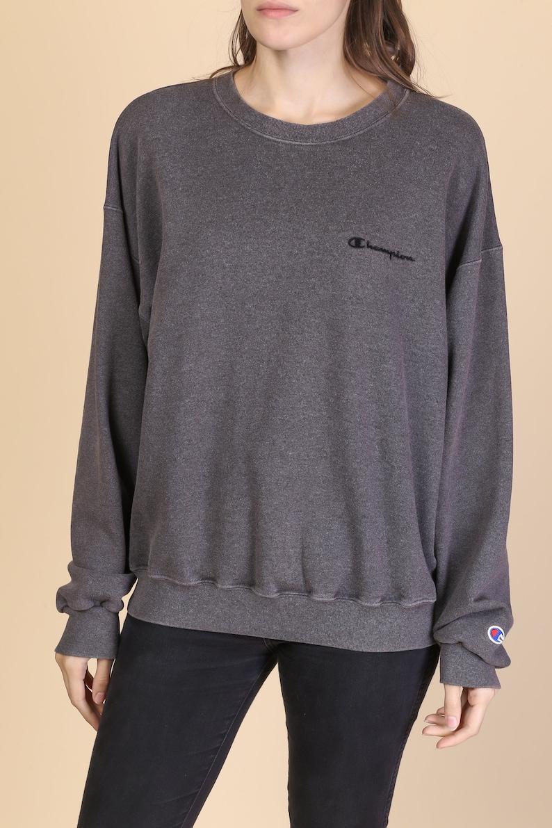 5d5861eef45 90s Champion Sweatshirt Men s Large Vintage Dark Gray