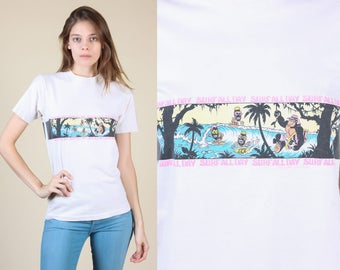 "Vintage ""Surf All Day, Rage All Night"" Shirt 