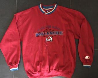 Vintage Starter Colorado Avalanche Crewneck