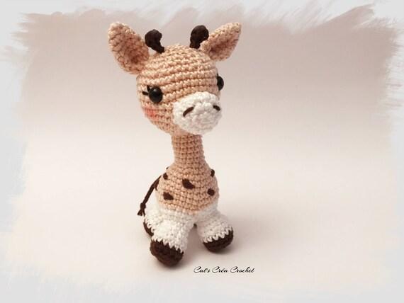 Amigurumi Baby Giraffe Häkeln Häkeln Puppe Decke Häkeln Etsy