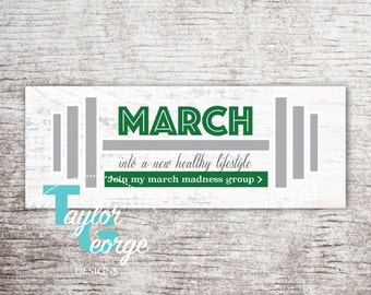 Coach power hour checklist coach daily planner challenge etsy health fitness coach march madness challenge group facebook cover photo march fitness group spring challenge group banner reheart Choice Image