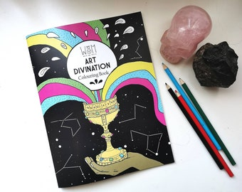 Art Divination Colouring Book