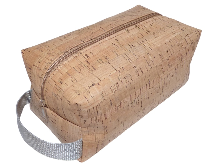 Cork Toiletry Bag