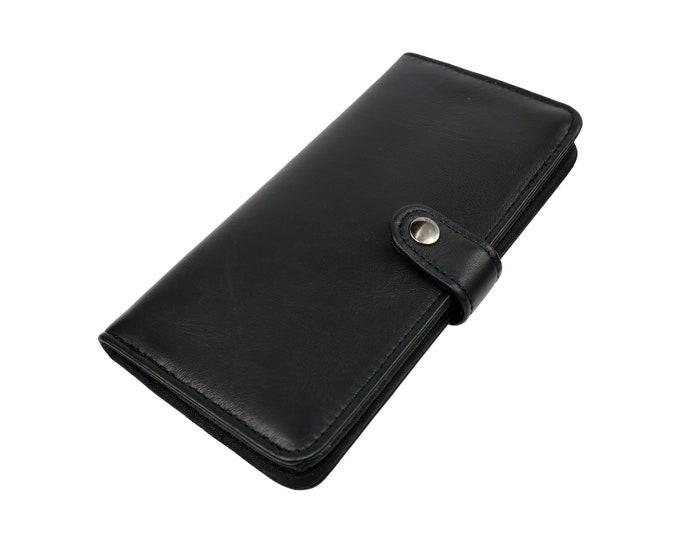 Lambskin Bi fold Wallet