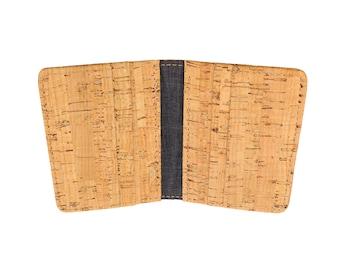 Cork Vertical Bifold Wallet