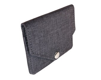 Gray Snap Pouch