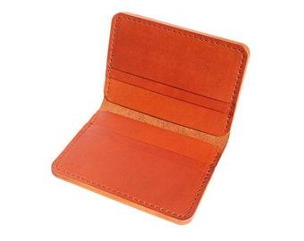 Brown Vertical Bifold Wallet