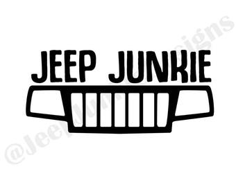 Jeep Junkie Vinyl Decal