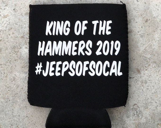 Limited Edition Jeeps of SoCal KOH2019 Koozie