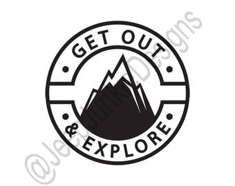 Get Out & Explore Decal