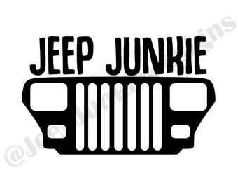 Jeep Junkie YJ Vinyl Decal