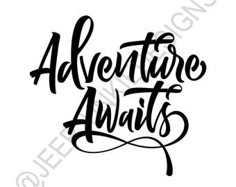 Adventure Awaits - Vinyl Decal