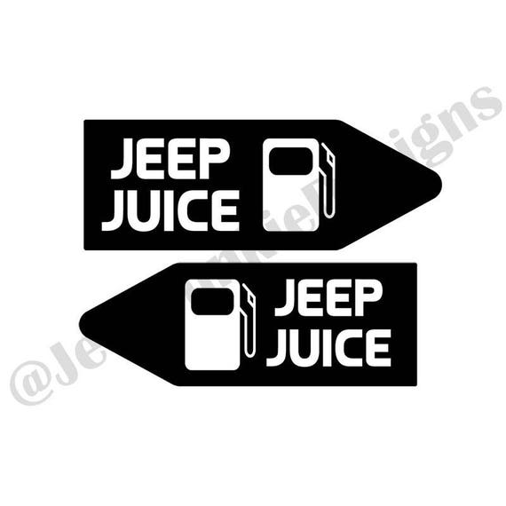 jeep juice vinyl decal jeep decal jeep sticker jeep