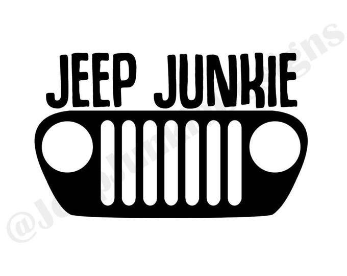 Jeep Junkie TJ Vinyl Decal