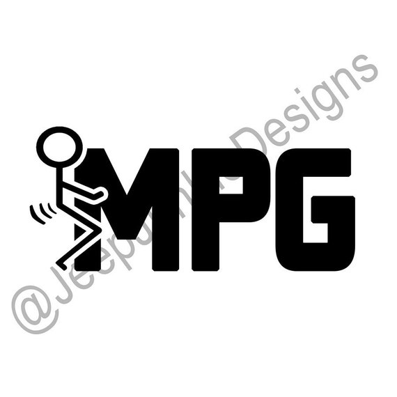 F*CK MPG Stick Figure