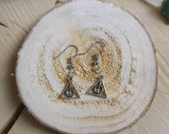 Earrings shrines of death