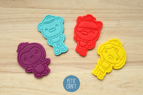 Octonauts Kwazii Cookie Pastry Biscuit Cutter Icing Fondant Baking Kitchen Cute