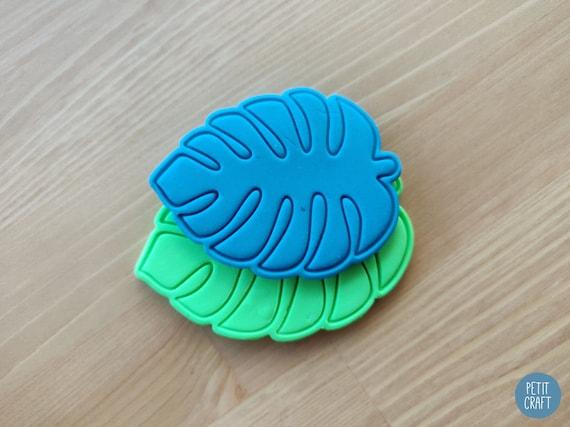 Palm leaf cookie fondant cutter UK Seller