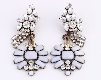 Trendy, Large Statement Earrings