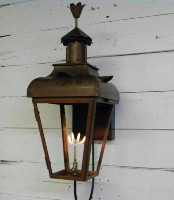 Copper Lantern Pendant Light Copper Light Fixture Rustic Outdoor Lantern Antique Vintage Modern Gas Or Electric Lanterns Bird Of Paradise