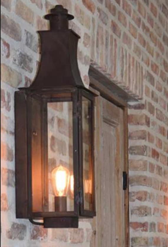 Copper Lantern Pendant Light, Outdoor Electrical Lighting Fixtures