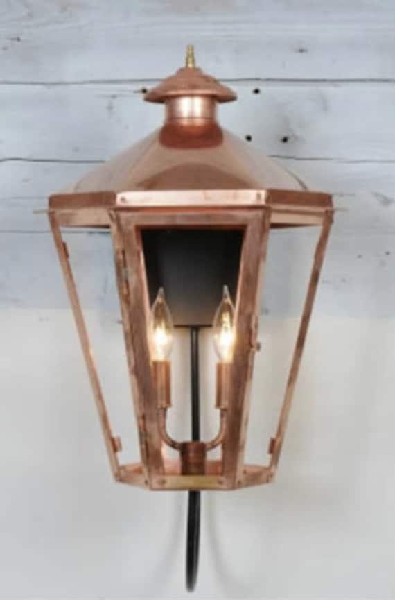 Copper Lantern Pendant Light, Copper Outdoor Lighting Fixtures