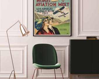 Etonnant Aviation Poster   Airplane Poster 1912   Aviation Decor   Aviation Art    Aviation Print   Aviation Wall Art   Aviation Nursery   Art Deco