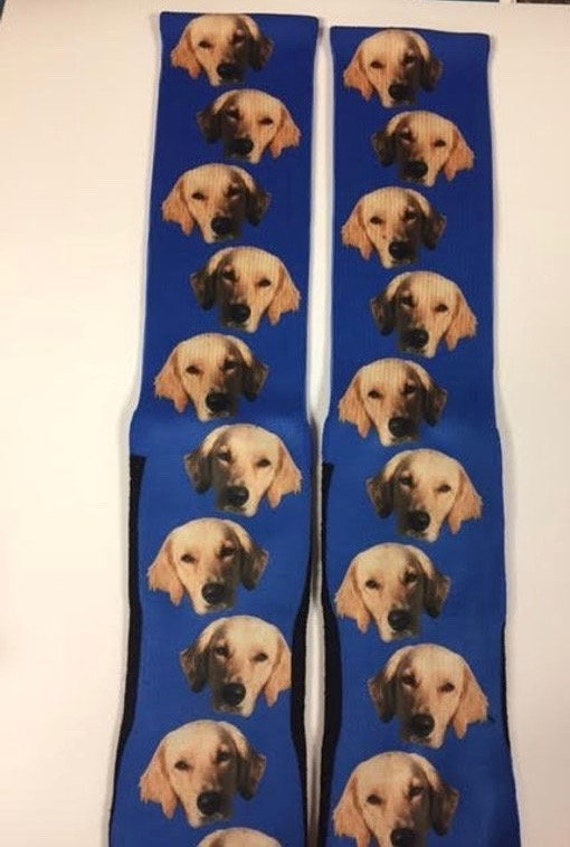 Mens Custom Dog Socks Womens Custom Dog Socks Mens Custom Etsy