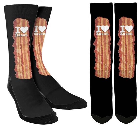Bacon Socks Bacon Lover Socks Bacon Gifts Bacon Items  79be04dc2e