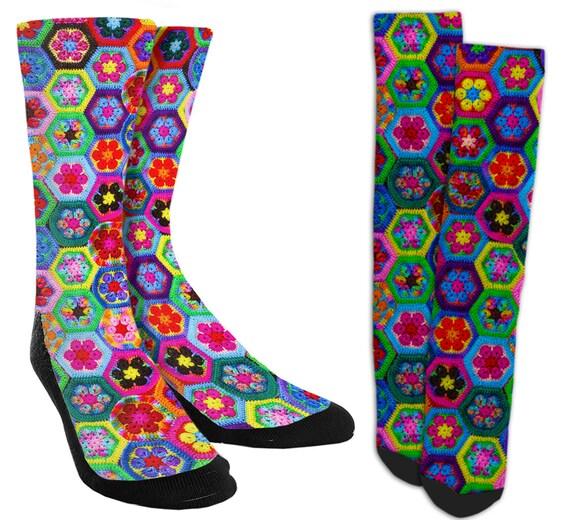 Flower socks.novelty socks