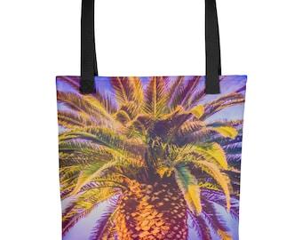 Vibrant Palm Tree Tote bag