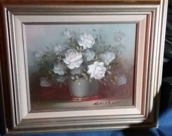 Robert cox rose painting